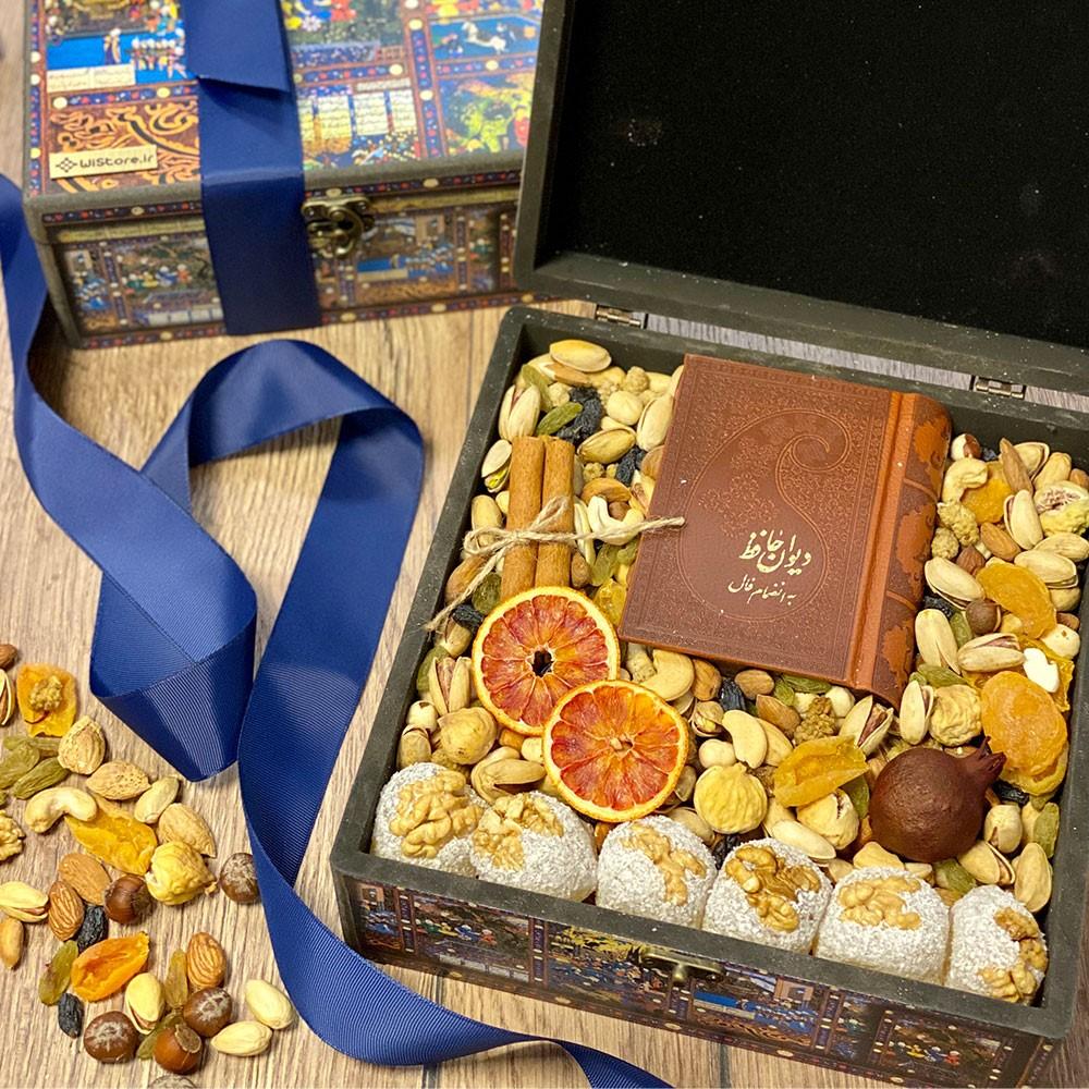 ساخت جعبه هدیه شب یلدا را از ما یاد بگیرید!