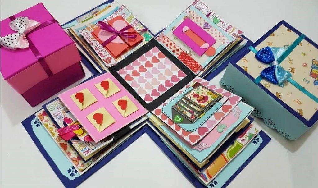 ایده های طراحی جعبه کادو برای شب یلدا