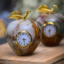 سیب دکوری مدل ساعت دار
