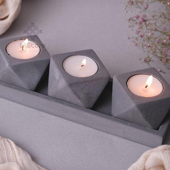 ست شمع مثلثی