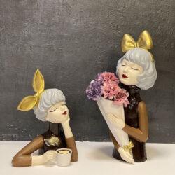 مجموعه مجسمه دخترونه