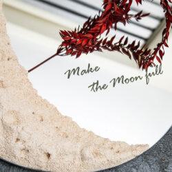 آیینه ماه (با قطر های متفاوت)