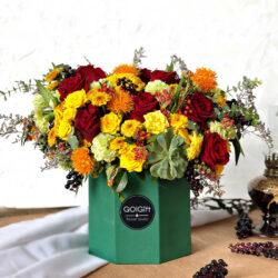 باکس گل پاییزی